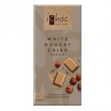Ichoc bio nugátos tejcsokoládé (rizstejjel) 80g