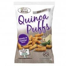 Eat real quinoa puffs - jalapeno és cheddar sajtos 40g