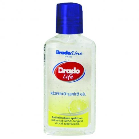 Vásároljon Bradolife kézfertőtlenítő gél citrom 50ml terméket - 494 Ft-ért