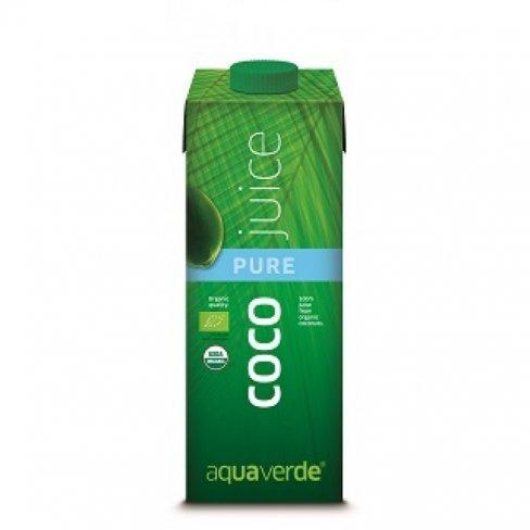 Aqua verde bio kókusz juice natúr 1000ml