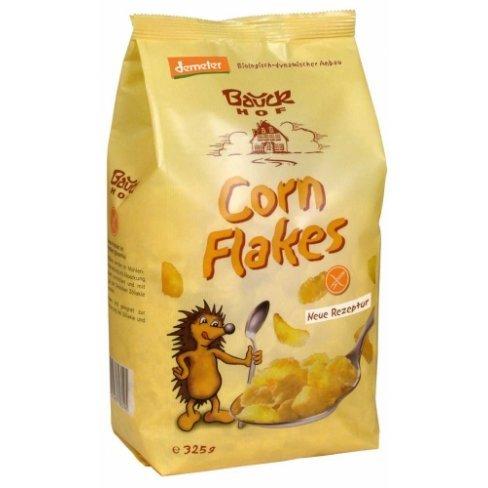 Bauck hof bio gluténmentes cornflakes édesített 325g