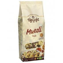 Bauck hof bio gluténmentes müzli gyümölcsös 325g