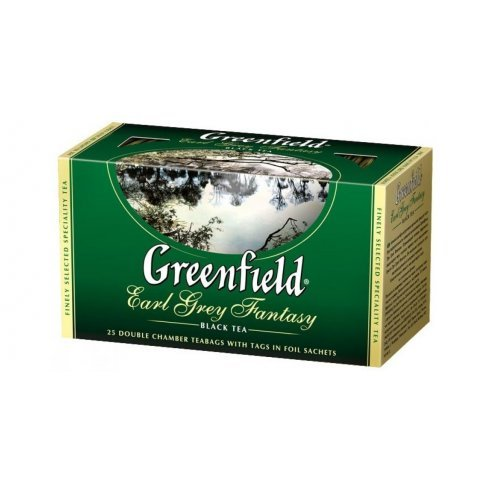 Greenfield earl grey fantasy tea 25db