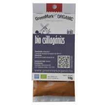 Greenmark bio csillagánizs őrölt 10g