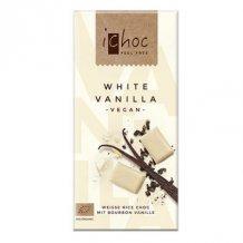 Ichoc bio fehércsokoládé (rizstejjel) 80g