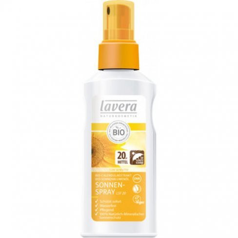 Lavera sun bio napvédő spray 20 spf 125ml