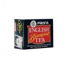 Mlesna english breakfast tea 50x2g 100g