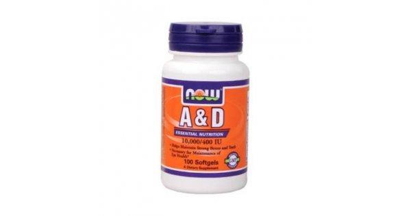 Now a & d vitamin kapszula 100db - Bio webáruház