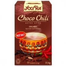 Yogi bio tea csokoládés chilis azték fűszeres 17x2,2g new 37g