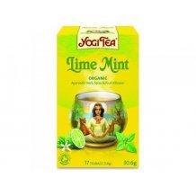 Yogi bio tea lime-menta 17x1,8g 31g