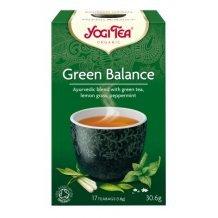 Yogi bio tea zöld egyensúly 17x1,8g 31g