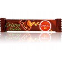 Canderel crispy almonds tejcsokoládé szelet gabona-mandula 27g