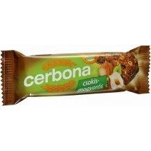 Cerbona szelet csokis-mogyorós 20g