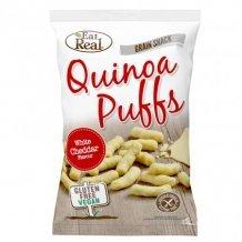 Eat real quinoa puffs - fehér cheddar sajtos 40g