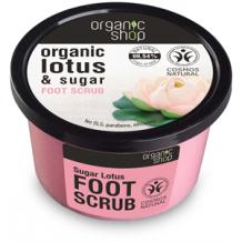 Organic shop édes lótuszvirág bió lábradír 250ml