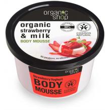 Organic shop eper joghurt bio testápoló krém 250ml