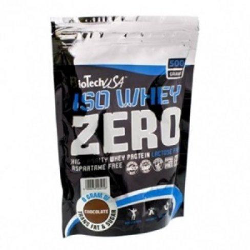 Vásároljon Biotech iso whey zero zacskós csokis 500 g terméket - 5.694 Ft-ért