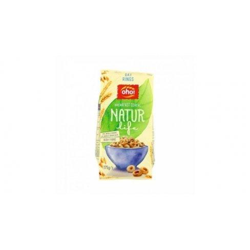 Oho natur life gabonakarika oat rings 175 g