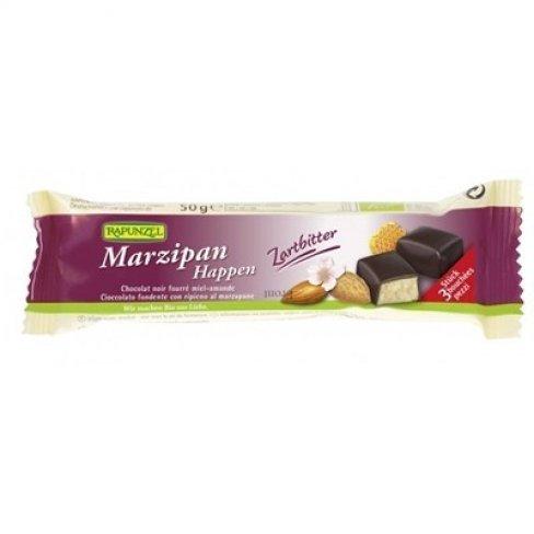 Rapunzel bio marcipánkockák étcsokiban 50 g