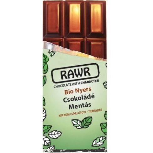 Rawr bio nyers csokoládé mentás 30 g 30 g