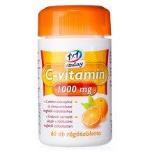 1x1 vitaday c-vitamin 1000mg rágótabletta 60db