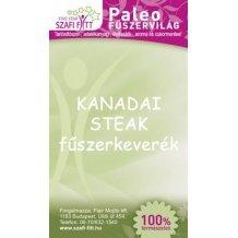 Szafi fitt termékcsalád kanadai steak fűszerkeverék 50 g