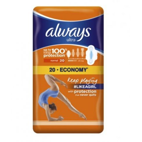 Always betét ultra normál plus duo 20db