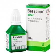 Betadine bőr- és nyálkahártya fertőtlenítő szer 30ml