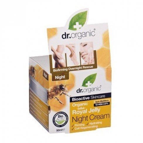 Dr.organic bio méhpempő éjszakai krém 50ml - Bio webáruház