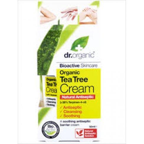 Dr.organic bio teafa antiszeptikus krém 50ml