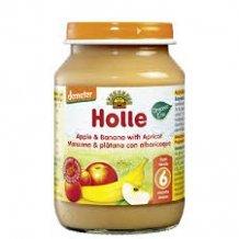 Holle bio bébiétel alma-banán-sárgabarack 190g