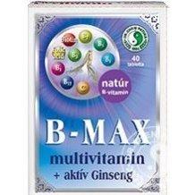 Dr.chen b-max multivitamin és aktív ginseng tabletta 40db