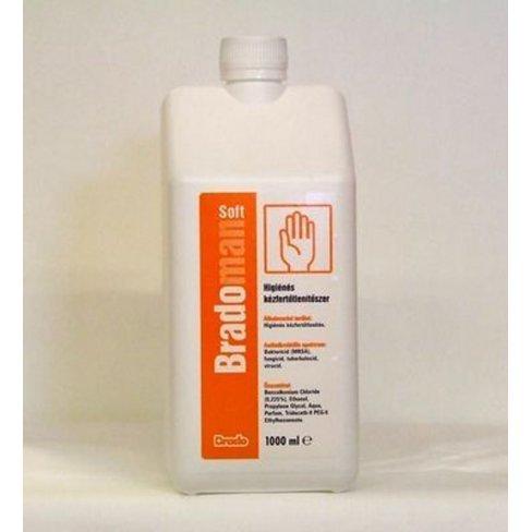 Vásároljon Bradoderm soft műtéti kéz-és bőrfertőtlenítő 500 ml terméket - 1.732 Ft-ért
