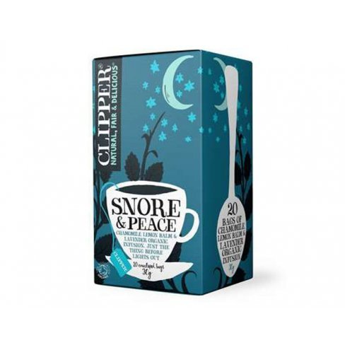 Clipper bio snore & peace tea 20 db 20 filter