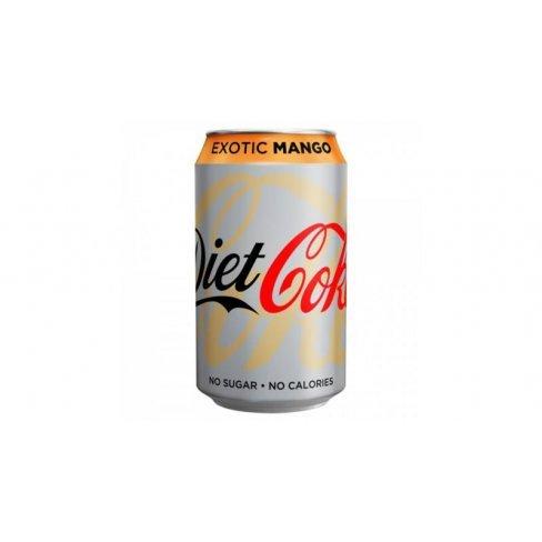 Coca-cola diet exotic mango 330 ml 330 ml