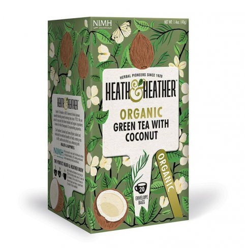 H&h bio zöldtea kókusszal 20 filter