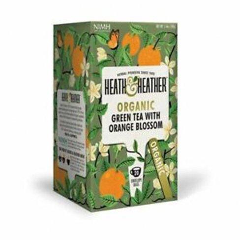 H&h bio zöldtea narancsvirággal 20 filter