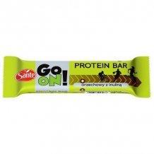 Sante go on tejcsokoládéval bevont mogyorós protein szelet 50g