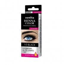Venita henna color gyógynövényes szemöldök festék 1.0 fekete 15g