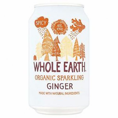 Whole earth bio üdítőital gyömbér 330 ml