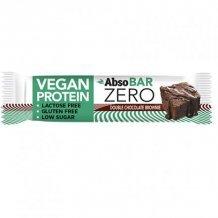 Absorice absobar zero vegan proteinszelet chocolate brownie 40g
