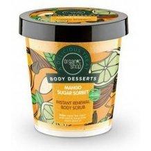 Organic shop bio cukros testradír bőrmegújító mango sugar 450ml