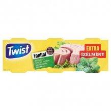 Twist tonhaltörzs növényi olajban zöldfűszeres 3x80g 240g