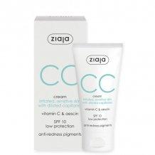 Ziaja cc krém érzékeny irritált kitágult hajszáleres bőrre 50ml