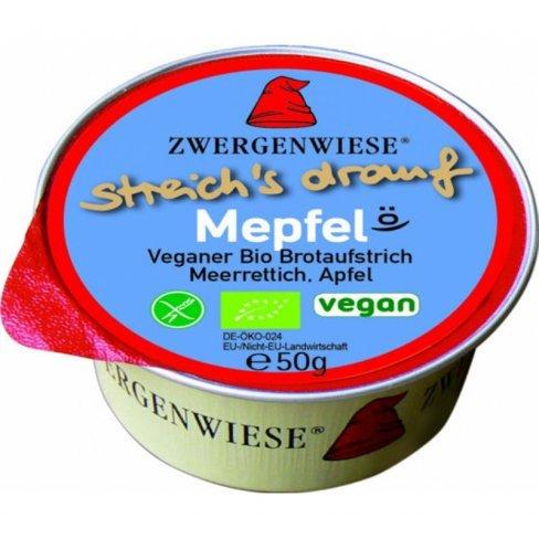 Zwergenwiese bio szendvicskrém mepfel egy adagos 50g