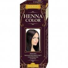Henna color krémhajfesték nr 19 fekete csokoládé 75ml
