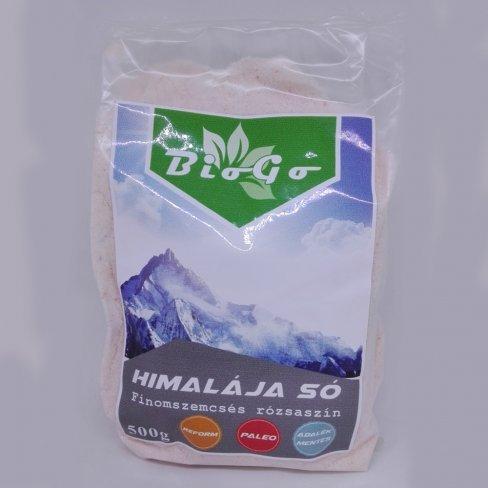 Vásároljon Biogo himalája só finom rózsaszín 500g terméket - 210 Ft-ért