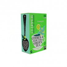 Clipper bio fairtrade citrus & aloe vera zöld tea 40g