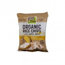 Rice up bio köles & napraforgó chips 25g