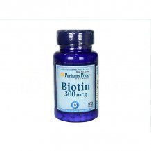 Puritans pride biotin tabletta 100db